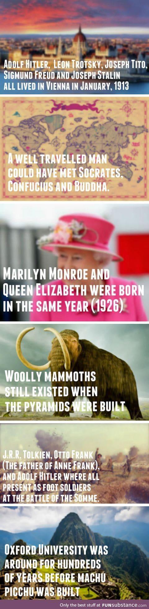 Crazy historical comparisons