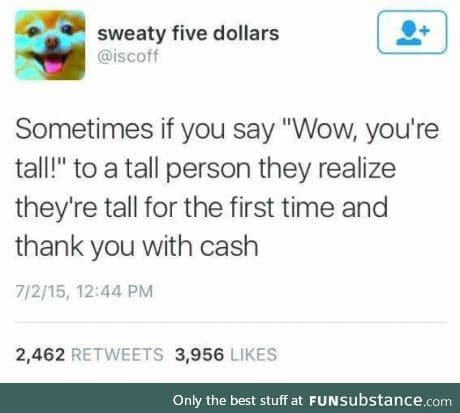 As a tall person I can confirm