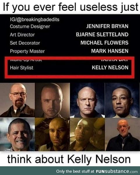 Kelly Nelson has the best job ever