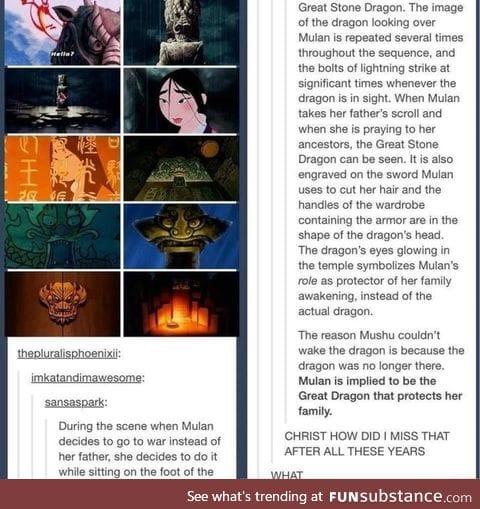 Mulan is a beast!