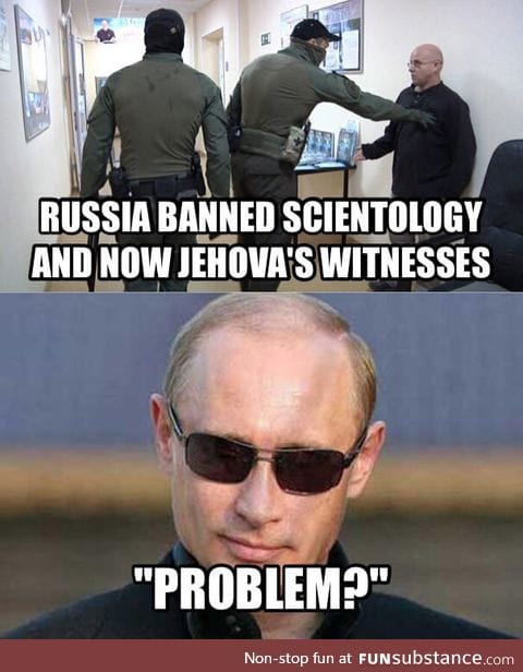Russia really doesn't care