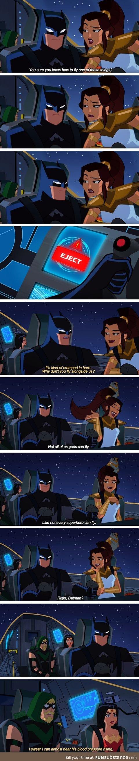 Don't piss off the bat