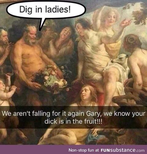 Not again Gary!
