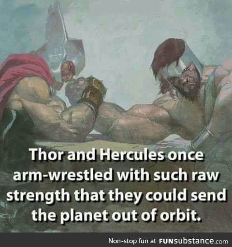 All hail mighty thor.