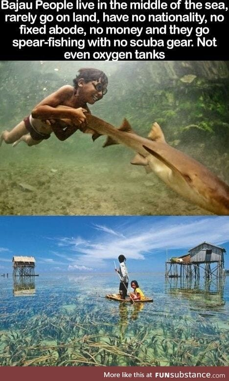 Incredible live of the Bajau People