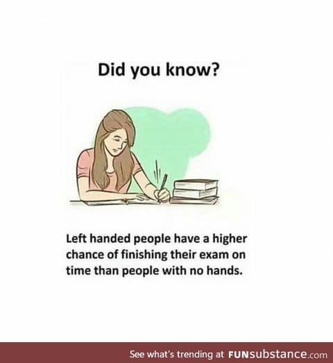 Well, it's true