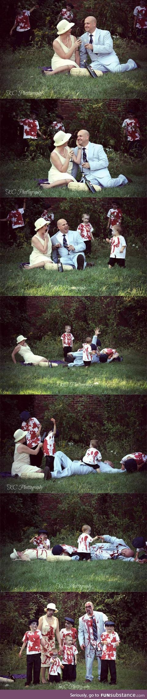 Family's Picnic Gets Interrupted