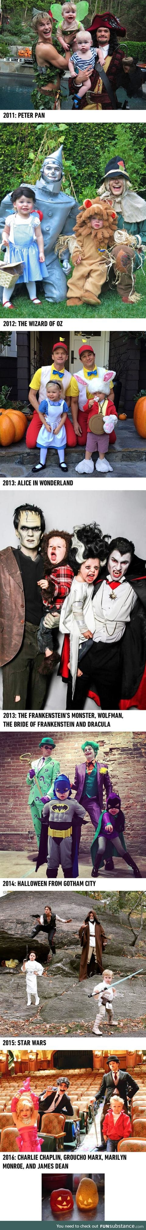 Neil Patrick Harris and Family Give Us Serious Costume Goals