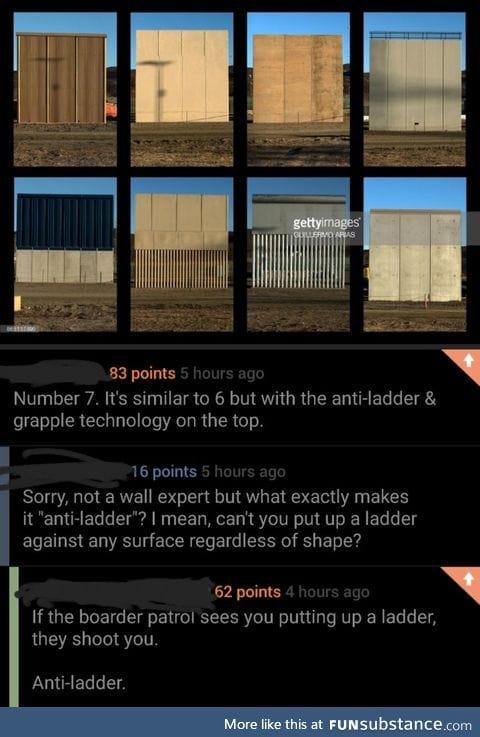 Anti ladder technology