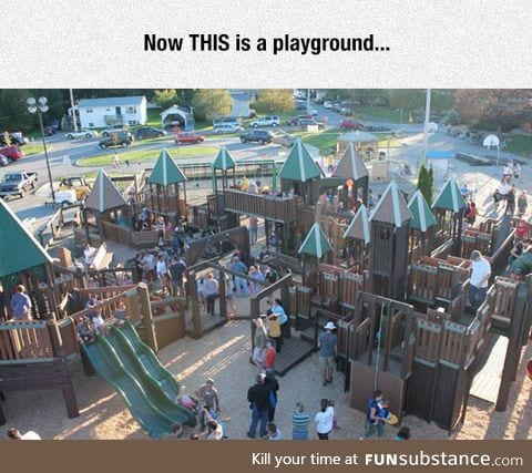 A playground like no other