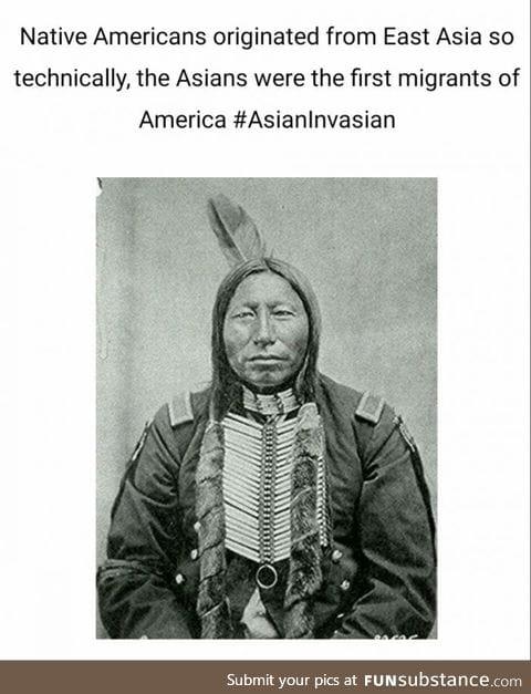 #AsianInvasian