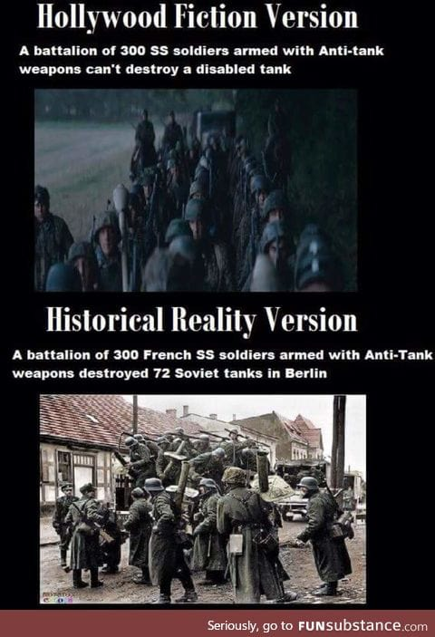 Hollywood fiction vs historical reality