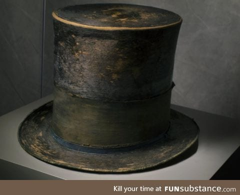 Abraham Lincoln's top hat