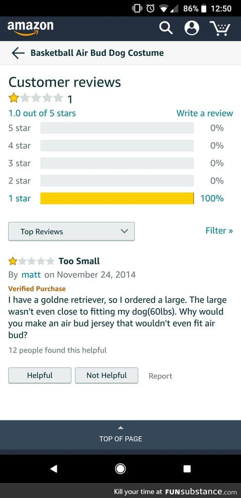 Best Air Bud costume review