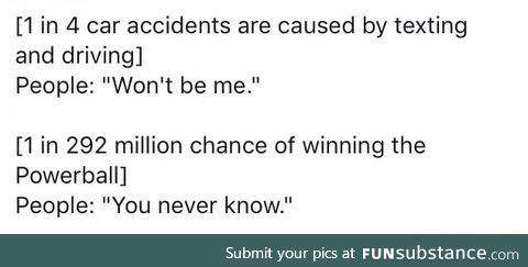 People don't understand probability