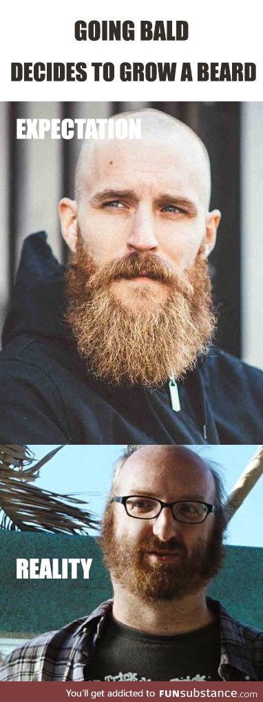 Gonna grow a manly beard