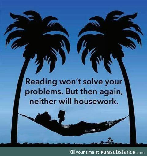 It Won't Solve Your Problems