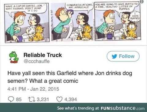 NSFW Garfield