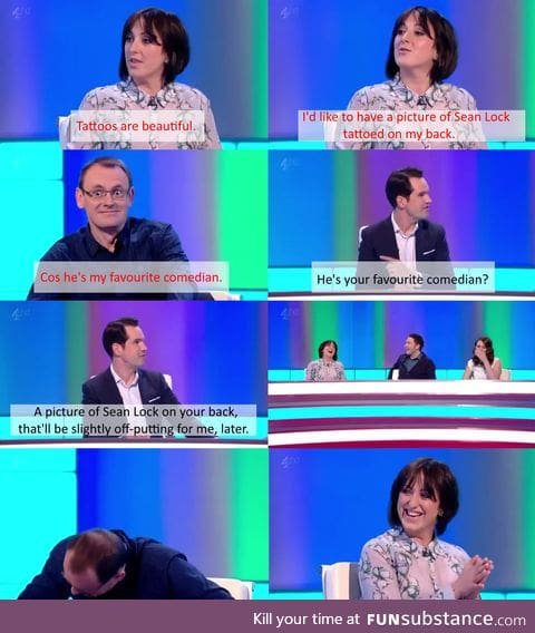 Jimmy Carr's finest hour