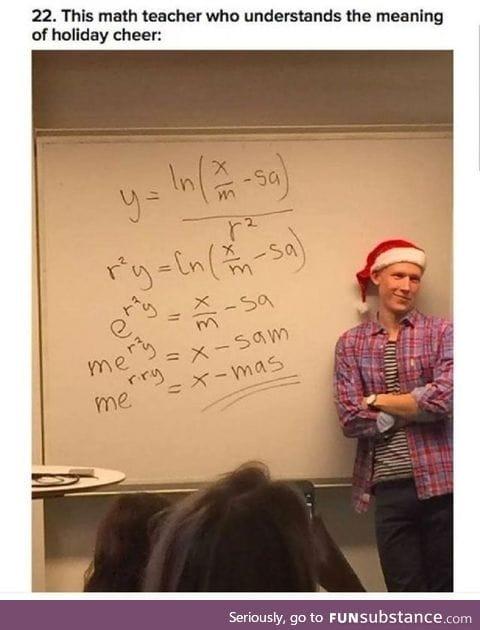 Mathematical christmas