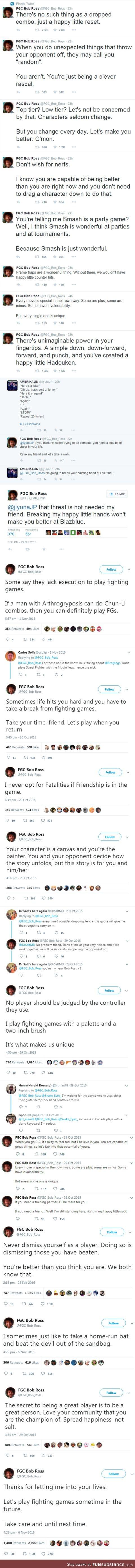 Bob ross lives on