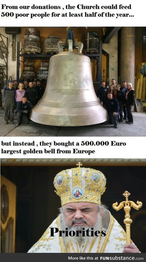 Romania's largest bell