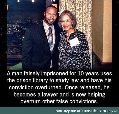 Man frees himself after false rape accusation