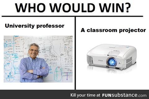 Meanwhile in engineering classrooms