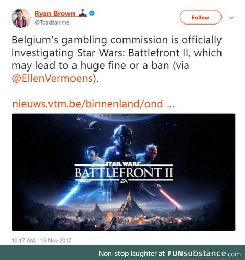 EA might be in trouble