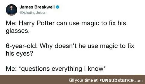 Harry Potter isn't so smart
