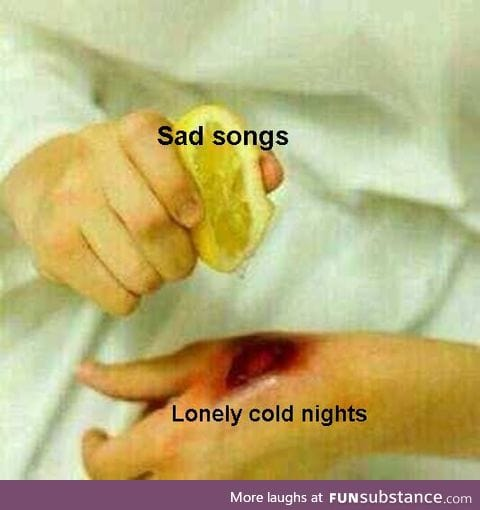 Such lonely nights should be banned