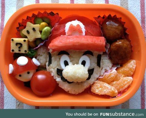 Mario bento lunch box