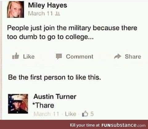 Haha dumb women