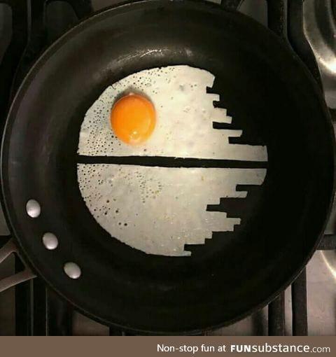 Vader's favourite breakfast