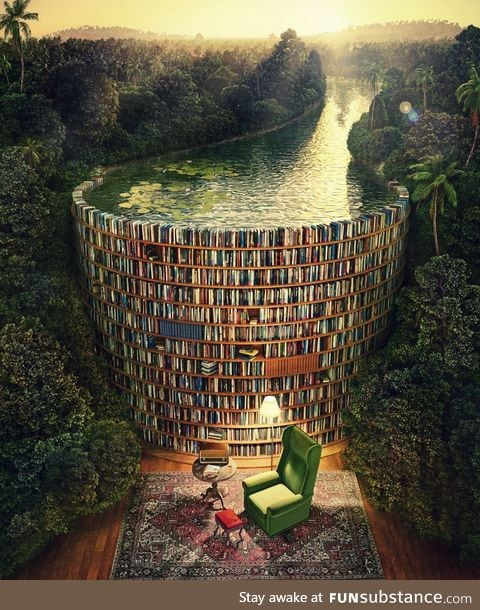 When you get lost in a book