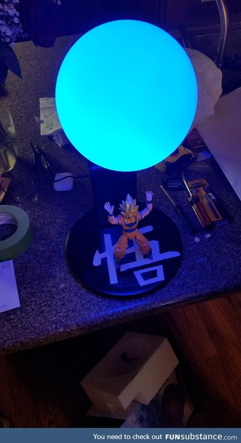 I thought some of you guys would like this lamp I built