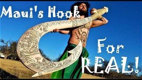 Maui's Hook. I wanna meet this guy