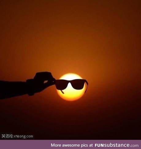 Handsome sun