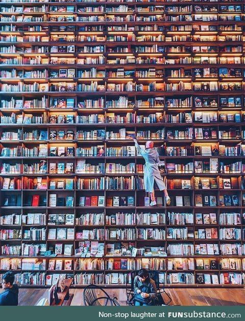 Bookstore in Osaka