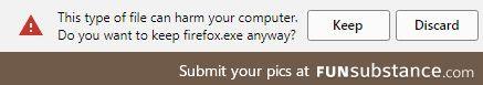 Nice try, Google Chrome... Nice try
