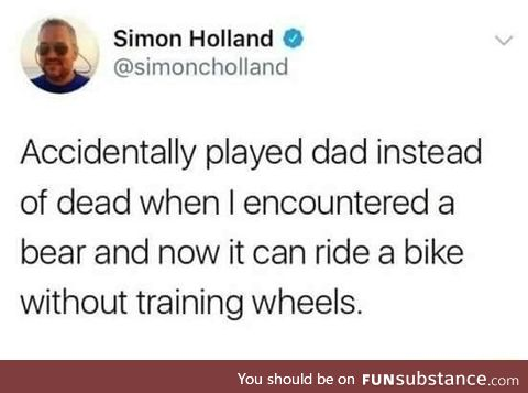 Don't play dad