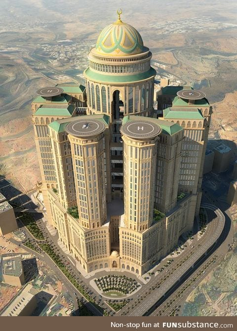 The largest hotel in the world, with a staggering 10,000 rooms