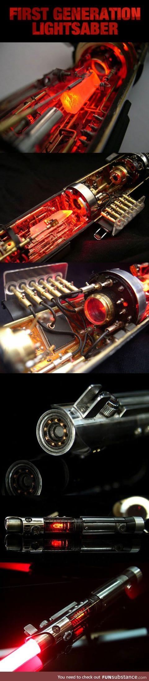Lightsaber prototype