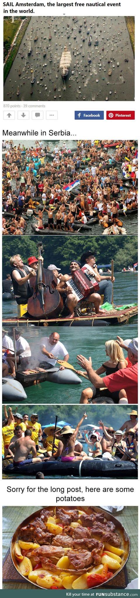 Event is called Drinska regata