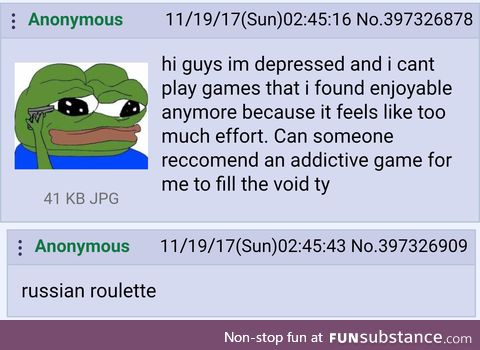 Anon needs a game suggestion