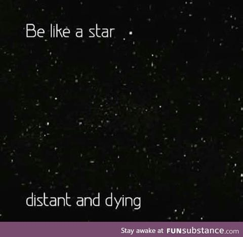 Be like star