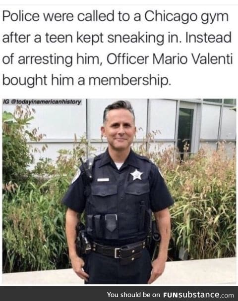 Another good guy cop