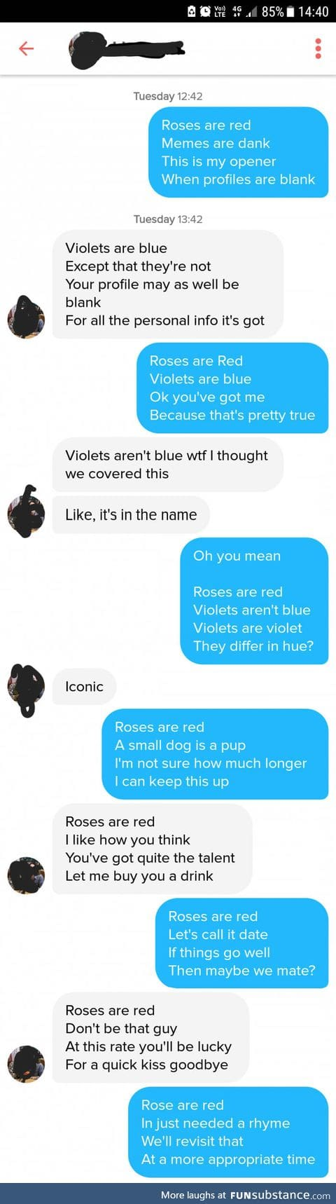 This guy uses poetry to woo a girl on Tinder and it actually worked!