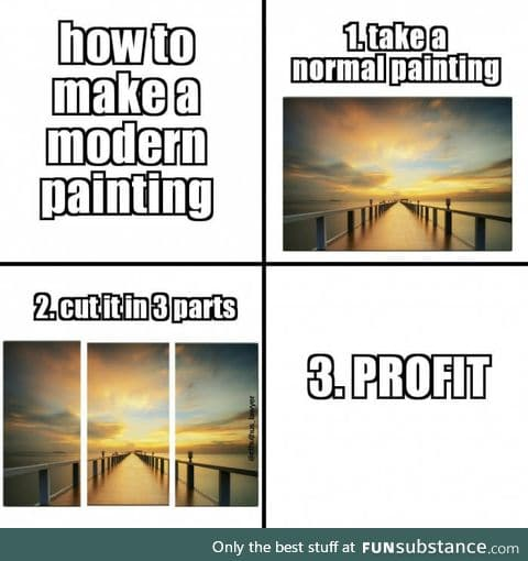 Every painting these days