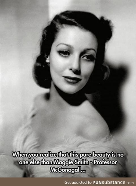She was such a real beauty